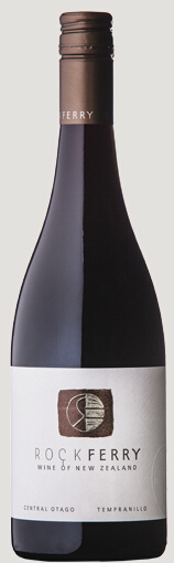 洛克费里丹魄干红葡萄酒(Rock Ferry Tempranillo,Central Otago,New Zealand)