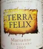 特拉菲力克斯玛珊-珊瑚混酿葡萄酒(Terra Felix Marsanne Roussanne, Goulburn Valley, Australia)
