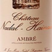 纳达尔·埃努酒庄琥珀甜白葡萄酒(Chateau Nadal Hainaut Ambre,Languedoc-Roussillon,France)