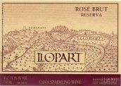 洛帕尔珍藏干型桃红起泡酒(Llopart Reserva Rose Brut,Penedes,Spain)