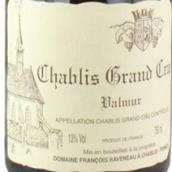 拉维利奥酒庄瓦慕(夏布利特级园)白葡萄酒(Domaine Francois Raveneau Valmur,Chablis Grand Cru,France)