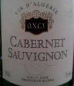 ONCV阿尔及尔酒庄赤霞珠干红葡萄酒(O.N.C.V. Alger Cabernet Sauvignon, Alegerie)