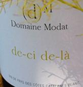牡黛酒庄这儿那儿干白葡萄酒(Domaine Modat De-ci De-la,Cotes du Roussillo,France)
