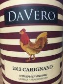 达唯洛酒庄塔司塔家族园佳丽酿干红葡萄酒(DaVero Testa Family Vineyard Carignano,California,USA)