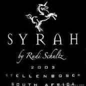 Rudi Schultz Syrah,Stellenbosch,South Africa