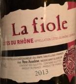 布诺特安瑟伦非勒干红葡萄酒(Brotte Pere Anselm La Fiole,Cotes du Rhone,France)