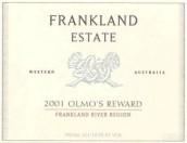 法兰克兰奥尔莫之奖干红葡萄酒(Frankland Estate Olmo's Reward, Frankland River, Australia)