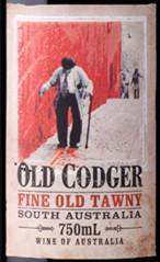 达其克怪老头茶色波特风格加强酒(Dutschke Old Codger Fine Old Tawny,Langhorne Creek,Australia)