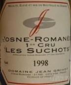 让·格里沃舒硕(沃恩-罗曼尼一级园)干红葡萄酒(Domaine Jean Grivot Premier Cru Les Suchots, Cote de Nuits, France)