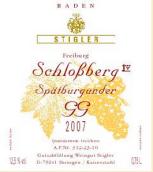 施蒂格勒依瑞恩温克乐堡特级葡萄园黑皮诺干红葡萄酒(Weingut Stigler Freiburg Schlossberg Spatburgunder GG trocken, Baden, Germany)