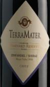 特雷玛特葡萄园珍藏系列仙粉黛-西拉混酿干红葡萄酒(TerraMater Vineyard Reserve Zinfandel Shiraz,Maipo Valley,...)