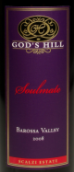 神之山灵魂伴侣西拉赤霞珠混酿葡萄酒(God's Hill Soulmate Shiraz-Cabernet Sauvignon,Barossa Valley...)