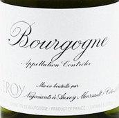 勒桦白葡萄酒(Maison Leroy Bourgogne Blanc, Burgundy, France)