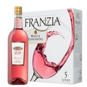 弗朗西亚酒商精选白仙粉黛桃红葡萄酒(Franzia Vintner Select White Zinfandel,Central Valley,USA)