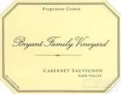 布莱恩特家族酒庄赤霞珠干红葡萄酒(Bryant Family Vineyard Cabernet Sauvignon, Napa Valley, USA)
