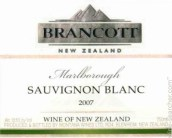 布兰卡特经典长相思白葡萄酒(Brancott Estate Classic Sauvignon Blanc, Marlborough, New Zealand)