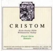 克里斯顿灰皮诺干白葡萄酒(Cristom Pinot Gris, Willamette Valley, USA)