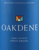 奥克丹灰皮诺干白葡萄酒(Oakdene Vineyards Pinot Grigio,Geelong,Australia)