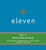 十一瑚珊白葡萄酒(Eleven Winery Roussanne,Washington,USA)