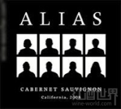 阿里爱赤霞珠干红葡萄酒(Alias Cabernet Sauvignon,California,USA)