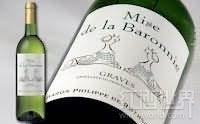 罗斯柴尔德男爵封爵干白葡萄酒(格拉夫)(Baron Philippe de Rothschild Mise de la Baronnie Blanc,...)