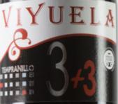 唯悦3+3丹魄干红葡萄酒(Viyuela 3+3 Tempranillo,Ribera del Duero,Spain)