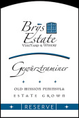 布里酒庄珍藏琼瑶浆白葡萄酒(Brys Estate Reserve Gewurztraminer, Old Mission Peninsula, USA)