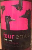 四小鸸鶓桃红葡萄酒(Four Emus Rose,Western Australia,Australia)