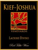基夫-约书亚酒庄神之泪红葡萄酒(Kief-Joshua Vineyards Lacrime Divino Red,Arizona,USA)