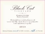 黑猫家庭特酿赤霞珠混酿干红葡萄酒(Black Cat Family Cuvee Cabernet Sauvignon,Napa Valley,USA)