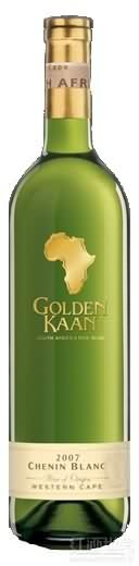 KWV金色卡恩白诗南干白葡萄酒(KWV Golden Kaan Chenin Blanc,Western Cape,South Africa)