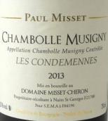 米塞舍隆酒庄康丹(香波-慕西尼村)红葡萄酒(Domaine Misset-Cheron Chambolle-Musigny Les Condemeses,Cote ...)