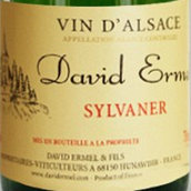 大卫·艾美尔酒庄西万尼白葡萄酒(David Ermel Sylvaner,Alsace,France)