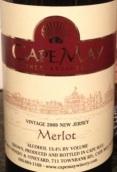 五月角梅洛干红葡萄酒(Cape May Merlot,New Jersey,USA)