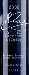 大卫弗兰兹疯狂的VP西拉-赤霞珠利口酒(David Franz'VP Crazy'Shiraz Cabernet Liqueur,Barossa ...)