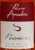 阿玛迪皮莱米斯桃红葡萄酒(Pierre Amadieu Premices, Mediterranee, France)