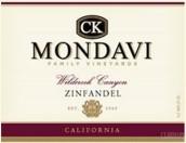C K Mondavi Family Vineyards Wildcreek Canyon Zinfandel,...