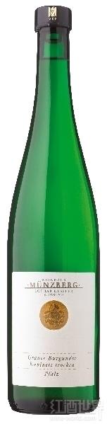 蒙泽贝格雷司令小房干白葡萄酒(Weingut Munzberg Grauer Burgunder Kabinett Trocken,Pfalz,...)