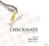 卡斯泰利酒庄将军多西诺干白葡萄酒(Castelli Estate Checkmate Dolcino,Western Australia,...)