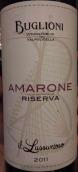 巴格利奥尼酒庄珍藏阿玛罗尼干红葡萄酒(Buglioni Amarone della Valpolicella Classico Riserva DOCG,...)