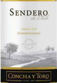 干露天路霞多丽干白葡萄酒(Concha y Toro Sendero Chardonnay,Central Valley,Chile)
