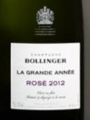 堡林爵丰年桃红香槟(Champagne Bollinger La Grande Annee Rose, Champagne, France)