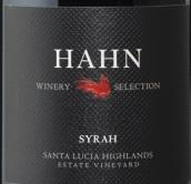 瀚恩酒庄精选西拉红葡萄酒(Haan Winery Selection Syrah, Saint Lucia Highlands, USA)