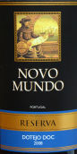 新大陆特茹干红葡萄酒(Novo Mundo Reserva Vinho Regional Tejo,Tejo,Portugal)