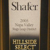 思福山坡精选赤霞珠干红葡萄酒(Shafer Hillside Select Cabernet Sauvignon,Stags Leap ...)