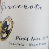 装饰音纳帕谷黑皮诺红葡萄酒(Gracenote Pinot Noir, Napa Valley, USA)