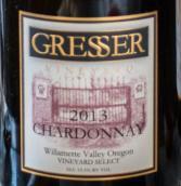 格雷赛尔霞多丽干白葡萄酒(Gresser Vineyard Chardonnay,Willamette Valley,USA)