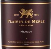普莱斯酒庄梅洛干红葡萄酒(Plaisir de Merle Merlot, Paarl, South Africa)