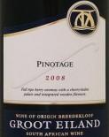 格露艾兰皮诺塔吉干红葡萄酒(Groot Eiland Pinotage,Breedekloof,South Africa)