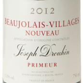 约瑟夫杜鲁安村庄级博若莱新酒(Joseph Drouhin Beaujolais Villages Nouveau,Beaujolais,France)